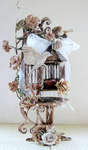 Altered Bird Cage {Prima}