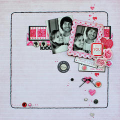 I love You Most...My Creative Scrapbook