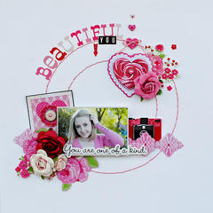 Beautiful You....My Creative Scrapbook