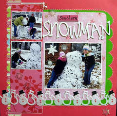 Southern Snowman