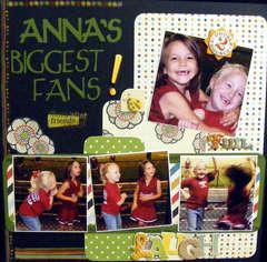 Anna's Biggest Fans