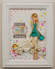 Julie Nutting Wood Doll Canvas...