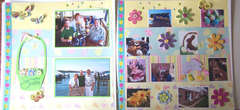 * Page 1 & 2 of Easter Layout