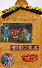 Vintage Halloween Tage