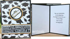 Graduation Card with Scroll