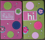 Hi card - Made with ALL scraps