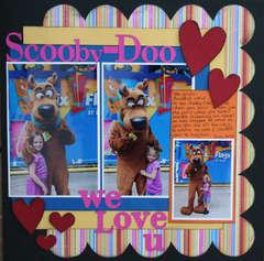 Scooby-Doo We Love U