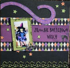 Zombie Ballerina Witch