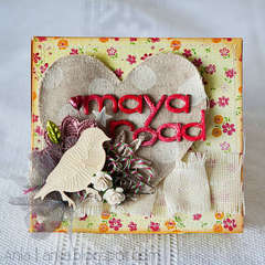 Maya Road altered chocolate box