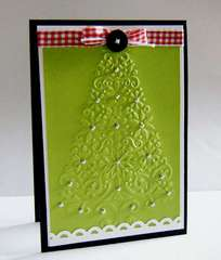 Embossed Christmas Tree