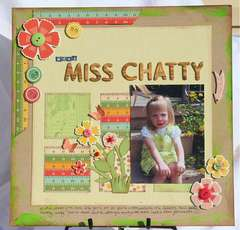 Meet Miss Chatty (Cosmo Cricket Material Girl)