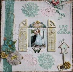 Little Miss Curious-SCRAPS OF ELEGANCE GD