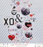 XOXO by Jennifer Chapin