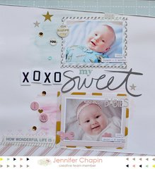 XOXO My Sweet by Jennifer Chapin