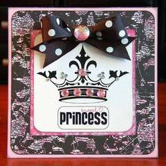 Glitz Glam Card by Lea Lawson