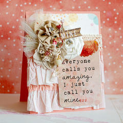 Everyone Calls You Amazing by Lea Lawson featuring Hello Friend from Glitz Design