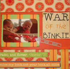 WAR of the BINKIE