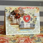Thankful Heart Card by Lea Lawson