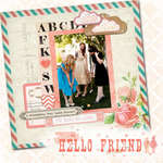 ABC featuring Hello Friend from Glitz Design