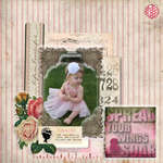 Spread your wings & Soar by Erin DeSpain featuring Pretty in Pink from Glitz Design
