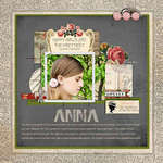 Anna by Lisa Breuer featuring Pretty in Pink and French Kiss Collections from Glitz Design