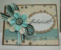 Celebrate Bday card