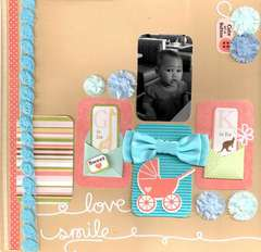 Cute As A Button  **Creative Scrappers**