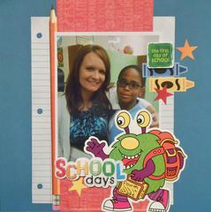 The First Day of School  ***Sketchy Friday Challenge***