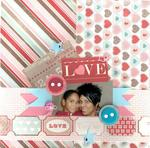 Love  ***Page Drafts & Carta Bella***