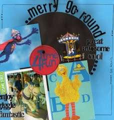 Merry Go Round:  Sesame Place