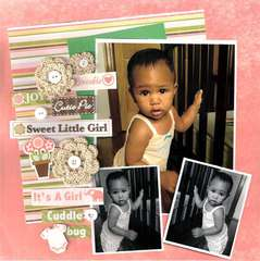Sweet Little Girl  **Nuts About Sketches**