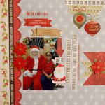 Ho Ho Ho Merry Christmas  ***Page Drafts Christmas Cheer***