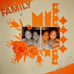 Family  ***White With 1***
