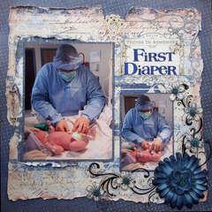 First Diaper