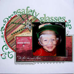 Safety Glasses with a Smile