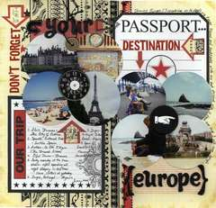 Don't Forget Your Passport... Destination Europe