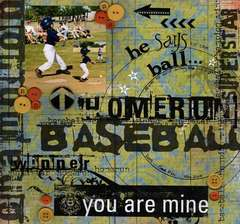 He Says To The Ball... You Are Mine
