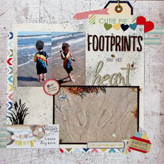 Footprints on my heart