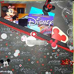 Disney pocket page