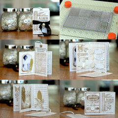 Grandma's Buttons Mini Album
