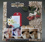 He Prays <br>Jenni Bowlin Mercantile June Kit</br>