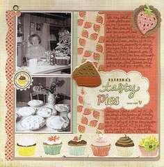 Grandma's tasty pies