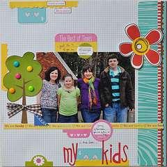 My 4 kids!