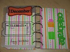 Dec/inside back cover Birthday/Anniversary Reminder *