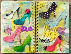 ~Art Journal~Swirlydoos UDC Week 5~