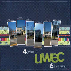 4 years UWEC 6 houses