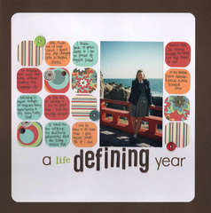 A life Defining Year
