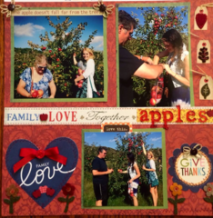 Apple Picking Fall of 2014, Lacrosse, WI