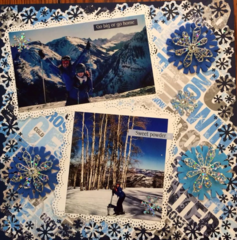 Skiing Winter Aspen, Go Big or Go Home