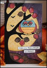 Halloween Hoot Card